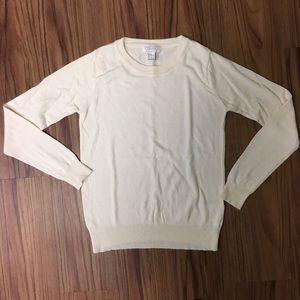 Cream Forever 21 Essential Sweater sz S